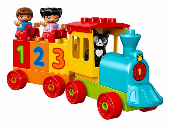 Конструктор lego duplo my first поезд «считай и играй»